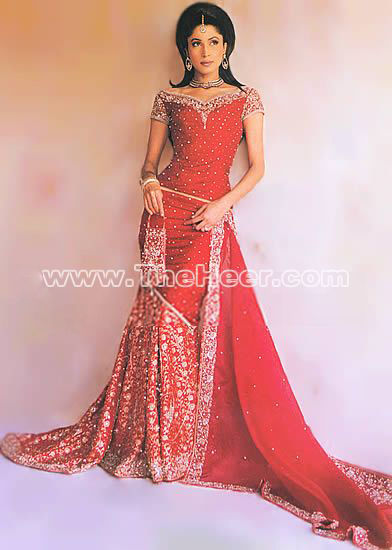 Asian Wedding Lehengas - Page 2 B007